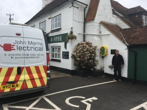 New Defibrillator Installed at the Jekyll and Hyde