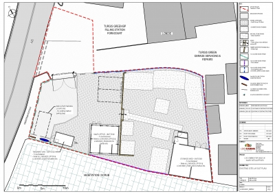 Planning Application in Turgis Green