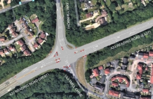 February start for upgrade to Basingstoke's A33 / Thornhill Way junction
